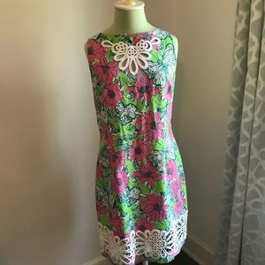 Lilly Pulitzer Classic Floral Shift Dress